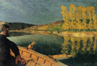 Edouard Vuillard The Rowboat Outing