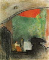 Edouard Vuillard - Scene from an Ibsen Play