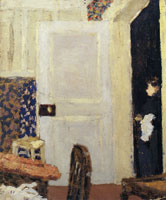 Edouard Vuillard - Woman by an Open Door