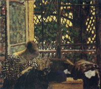 Edouard Vuillard Woman Sewing by an Open Window