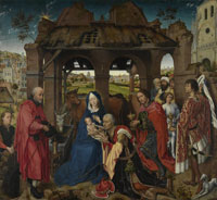 Rogier van der Weyden Adoration of the Magi