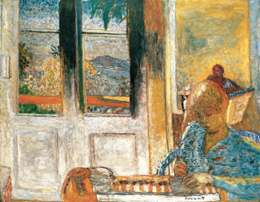 Pierre Bonnard - The French Window (Morning at Le Cannet)