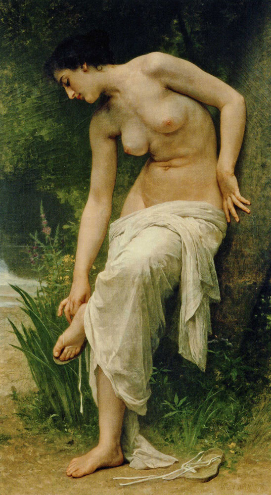 William-Adolphe Bouguereau - After the Bathe