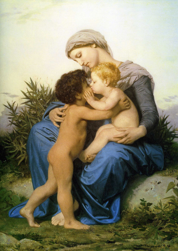 William-Adolphe Bouguereau - Brotherly Love