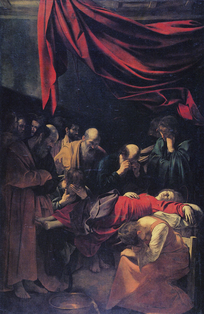 Caravaggio - The Death of the Virgin