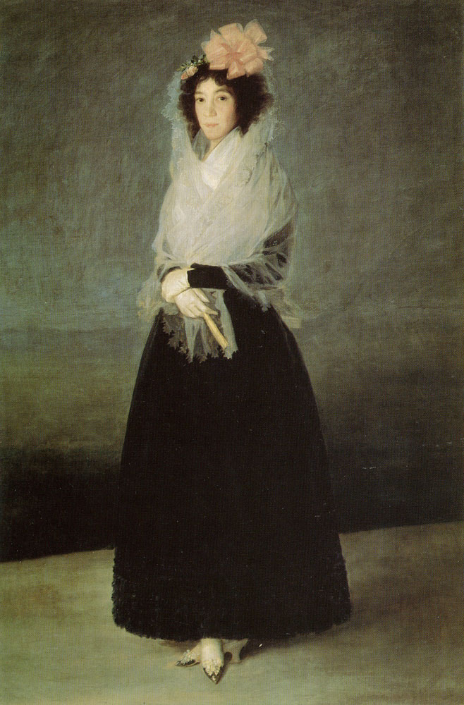Francisco Goya - Portrait of the Countess of Carpio, Marquesa de la Solana