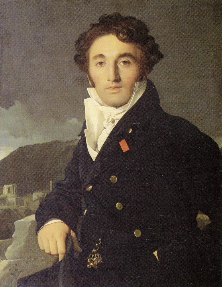 Jean Auguste Dominique Ingres - Portrait of Charles Cordier