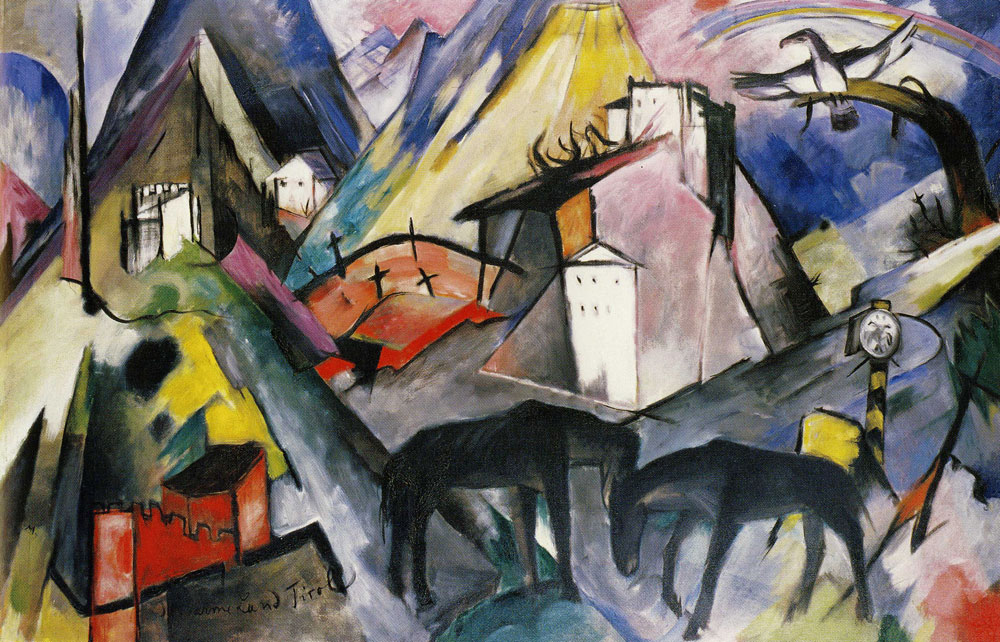 Franz Marc - The Unfortunate Land of Tyrol