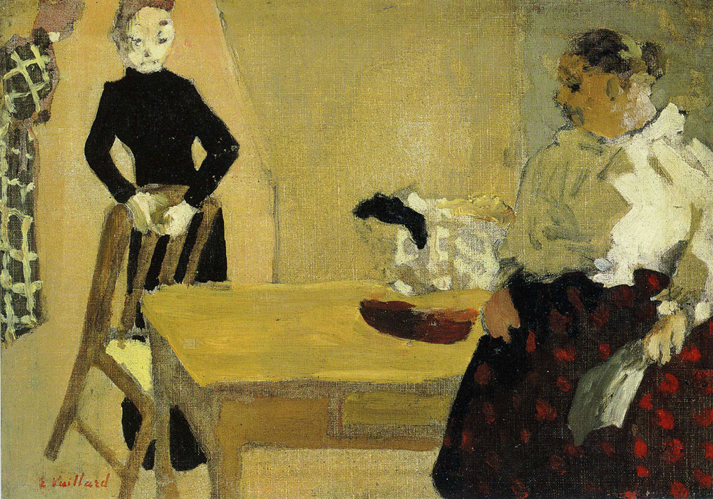 Edouard Vuillard - The Conversation