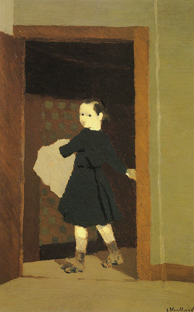 Edouard Vuillard - The Little Delivery-Boy