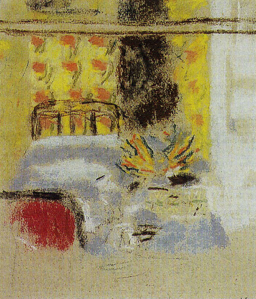 Edouard Vuillard - The Grandmother's Bed