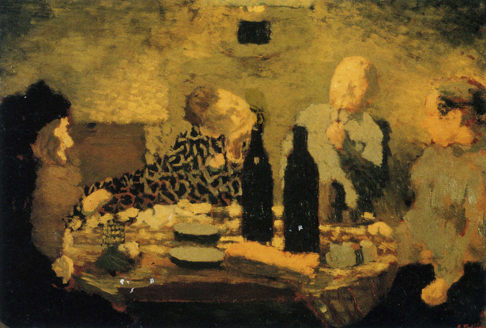 Edouard Vuillard - The Family after the Meal, known as The Greek Dinner