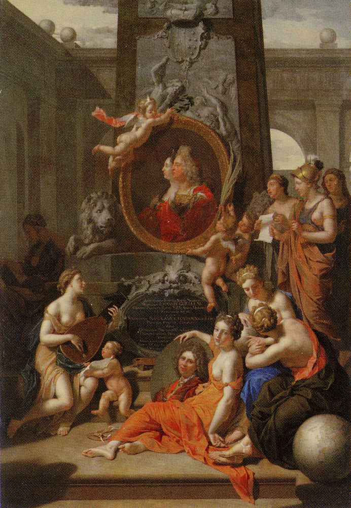 Adriaen van der Werff - Allegory on Art