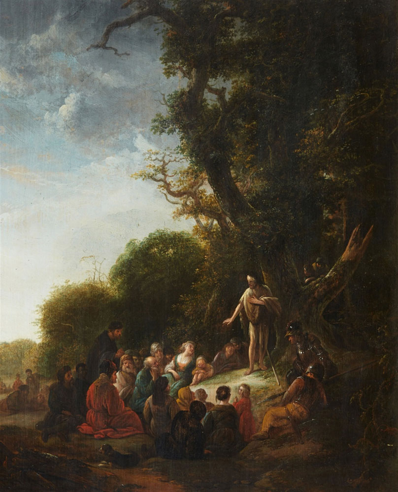 Jacob de Wet - The Preaching of John the Baptist