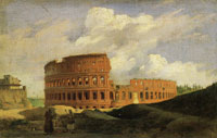 Achille-Etna Michallon The Colosseum in Rome