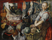 Joachim Beuckelaer - Kitchenmaid