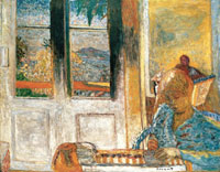 Pierre Bonnard The French Window (Morning at Le Cannet)