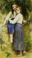 William-Adolphe Bouguereau - In the Woods