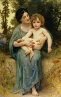William-Adolphe Bouguereau - The Little Brother