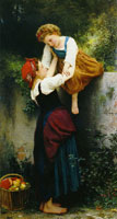 William-Adolphe Bouguereau Little Robbers