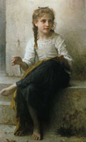 William-Adolphe Bouguereau - The Seamstress