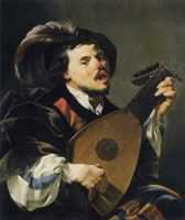 Hendrick ter Brugghen Singing Lute Player