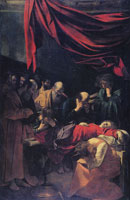 Caravaggio The Death of the Virgin