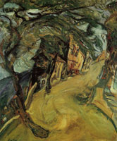 Chaim Soutine - Road up the Hill
