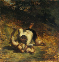 Honoré Daumier The Thieves and the Donkey