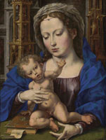 Jan Gossaert - The Virgin and Child