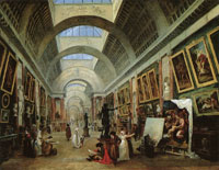Hubert Robert Project for the Transformation of the Grande Galerie of the Louvre