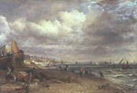 John Constable Chain Pier, Brighton