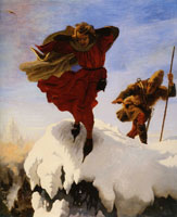 Ford Madox Brown Manfred on the Jungfrau