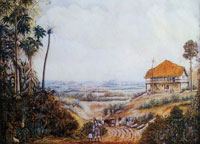 Frans Post - The house of a Portugese
