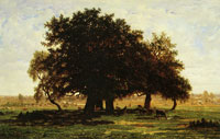 Théodore Rousseau - The Oaks of Apremont