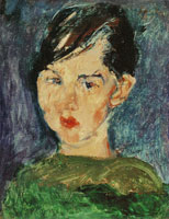 Chaim Soutine - Girl in Green