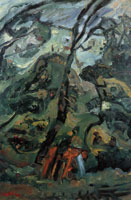 Chaim Soutine Landscape of Southern France
