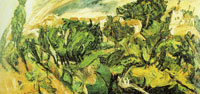 Chaim Soutine The Rainbow, Céret