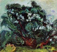 Chaim Soutine - The Tree