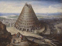 Lucas van Valckenborch The Tower of Babel