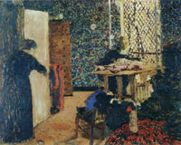 Edouard Vuillard Interior, the Dressmaking Room