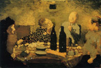 Edouard Vuillard The Family after the Meal, known as The Greek Dinner