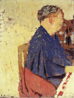 Edouard Vuillard Madame Vuillard at the Dinner Table