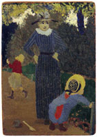 Edouard Vuillard In the Park, the Straw Hat