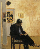 Edouard Vuillard The Reader (Romain Coolus)