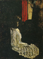 Edouard Vuillard Woman Seated in a Dark Room