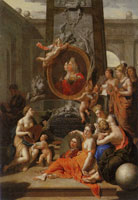 Adriaen van der Werff Allegory on Art