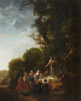 Jacob de Wet The Preaching of John the Baptist