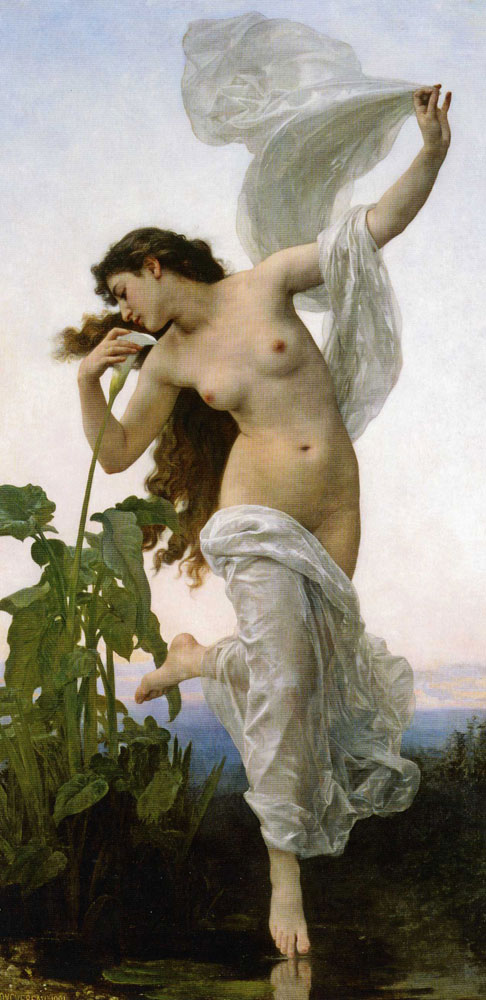 William-Adolphe Bouguereau - Dawn