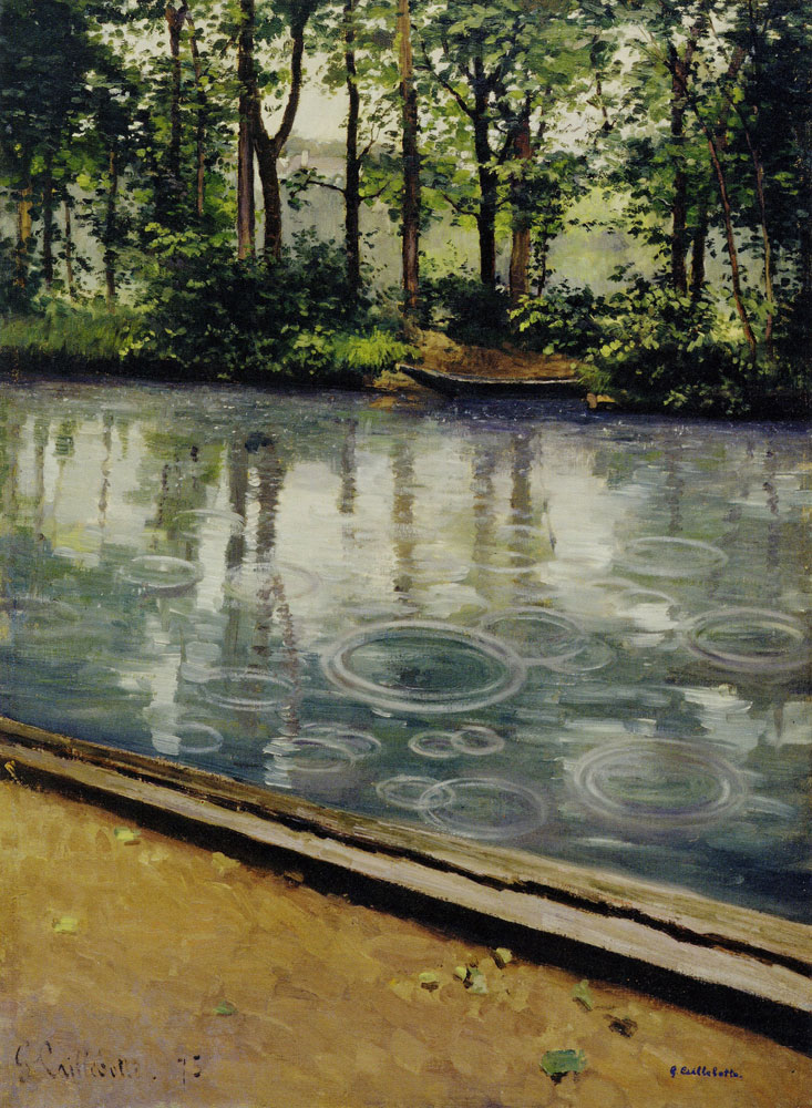 Gustave Caillebotte - The Yerres, Effect of Rain